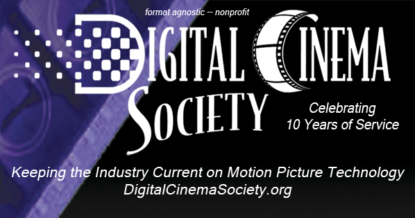 The Only Constant is Change -- Ten Years of the Digital Cinema Society