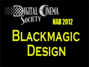 NAB 2012: Blackmagic Design