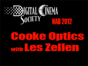 NAB 2012: Cooke Optics with Les Zellen
