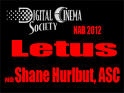 NAB 2012: Letus with Ryan E. Walters