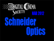 NAB 2012: Schneider Optics