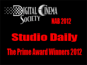 NAB 2012: Studio Daily The Prime Awards Winner 2012