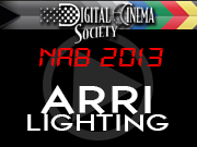 NAB 2013: ARRI Lighting - NAB 2013