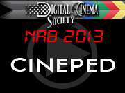 NAB 2013: CINEPED - NAB 2013