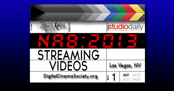 STREAMING NAB 2013