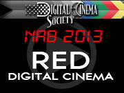 NAB 2013: RED DIGITAL CINEMA - NAB 2013