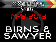 NAB 2013: BIRNS & SAWYER NAB2013