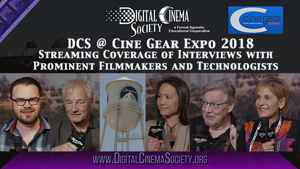 DCS @ Cine Gear Expo 2018 - Streaming Interviews