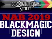 NAB-2019: BLACKMAGIC DESIGN