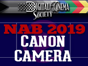 NAB-2019: CANON CAMERA