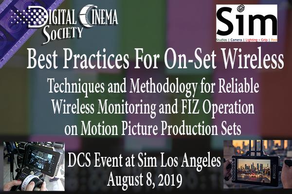 Events Calendar | Digital Cinema Society