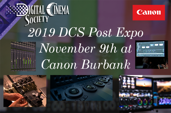 Now Streaming: Coverage of 2019 DCS Post Expo