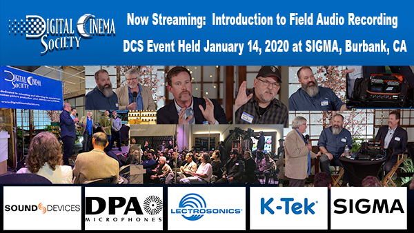 Now Streaming - DCS Event Coverage:Introduction to Field Audio Recording